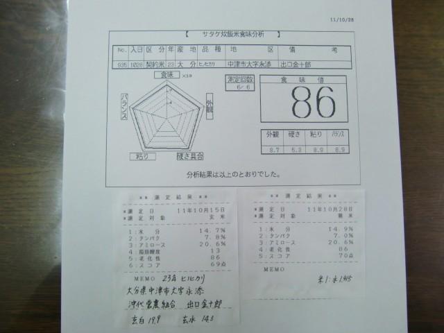 「沖代営農組合」 出口金十郎 産地特選米