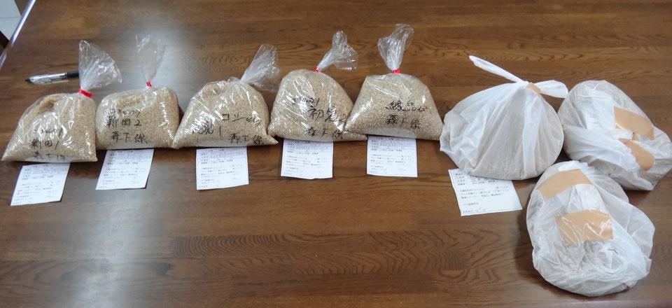 株式会社日食 29年産 新米サンプル 静岡製機 食味分析計 TM3500 玄米の食味値測定