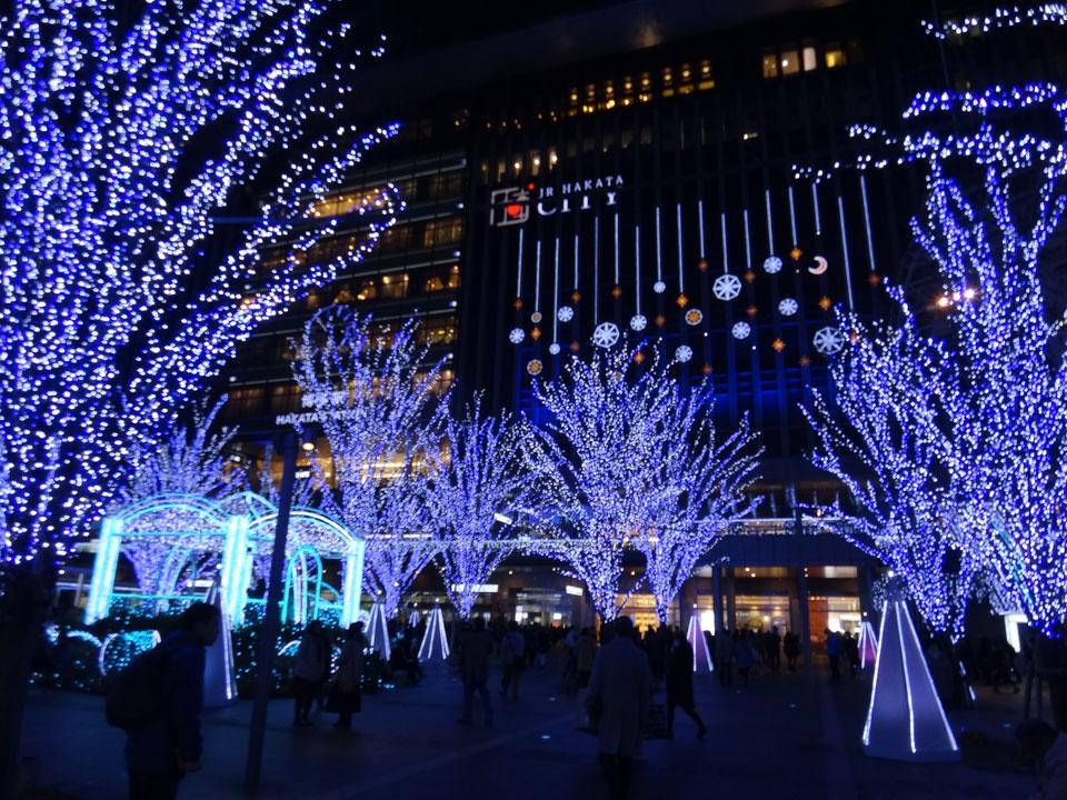 株式会社日食 JR博多駅 イルミネーション