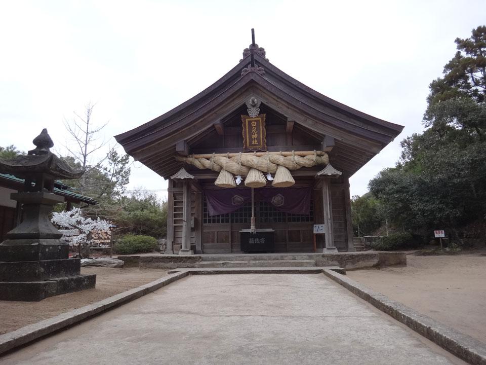 株式会社日食 鳥取県鳥取市白兎 白兎神社 拝殿