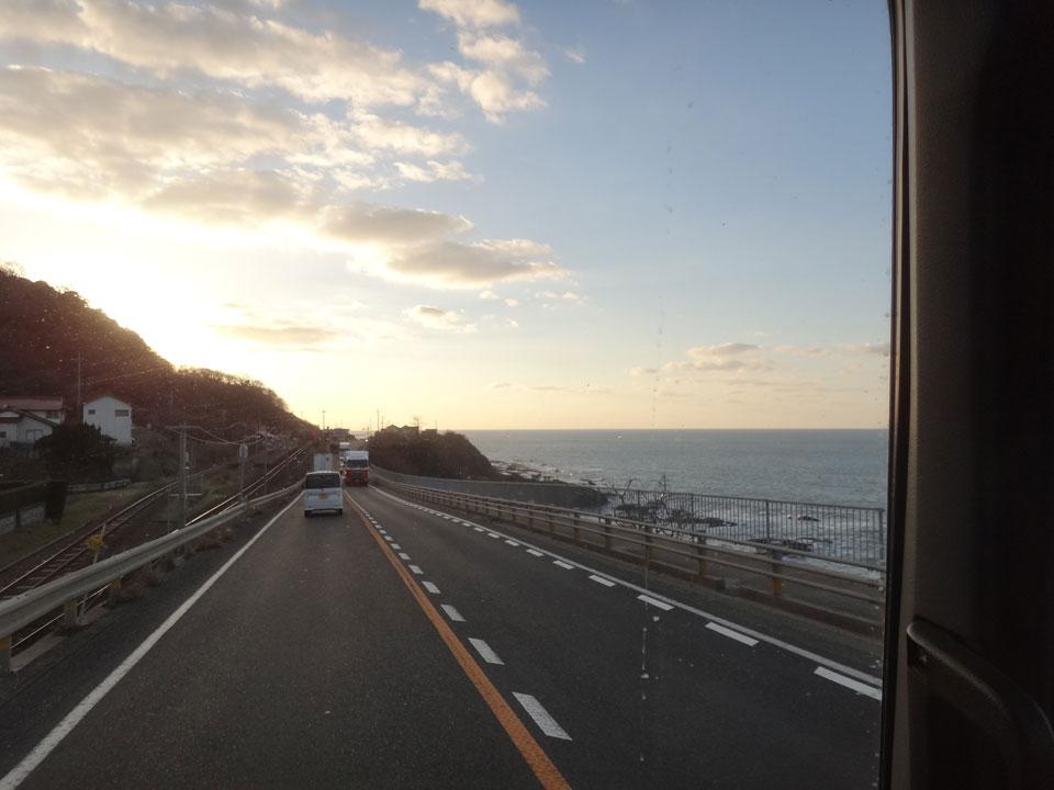 株式会社日食 国道9号線 島根県出雲市多伎町 日本海