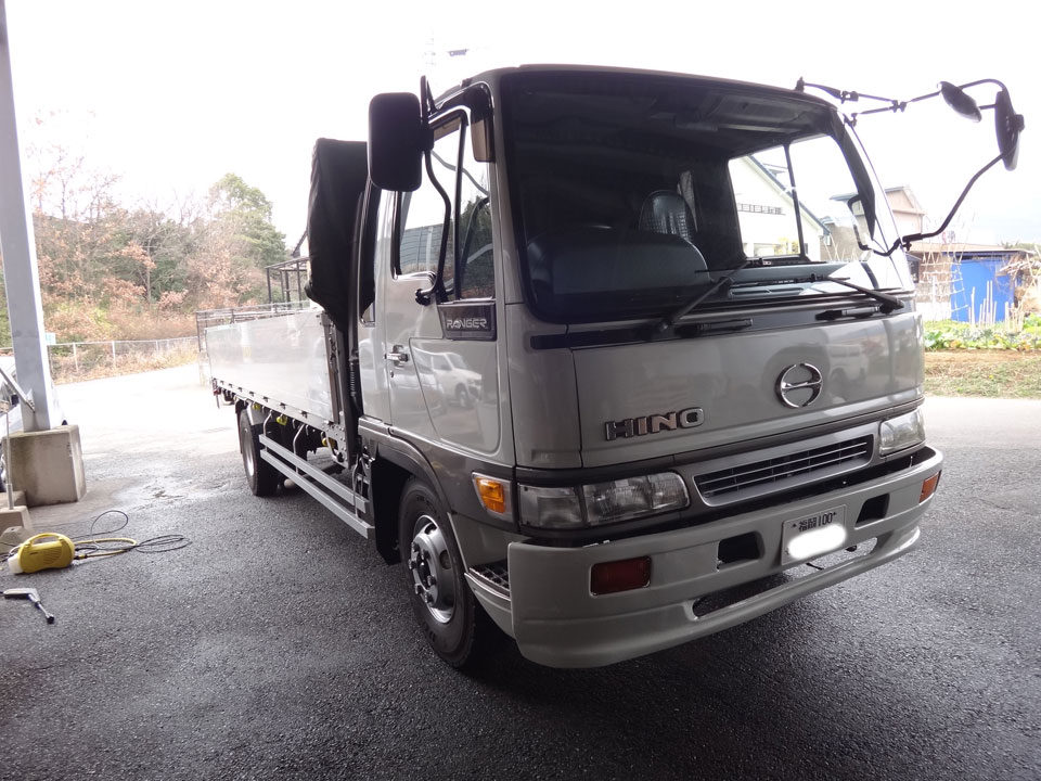株式会社日食 トラック 日野自動車 レンジャー 洗車 Gモード