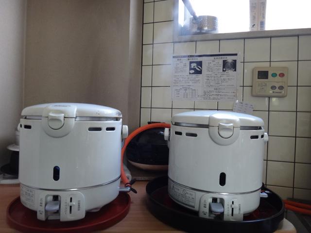 株式会社日食 炊飯試検 パロマ ガス炊飯器