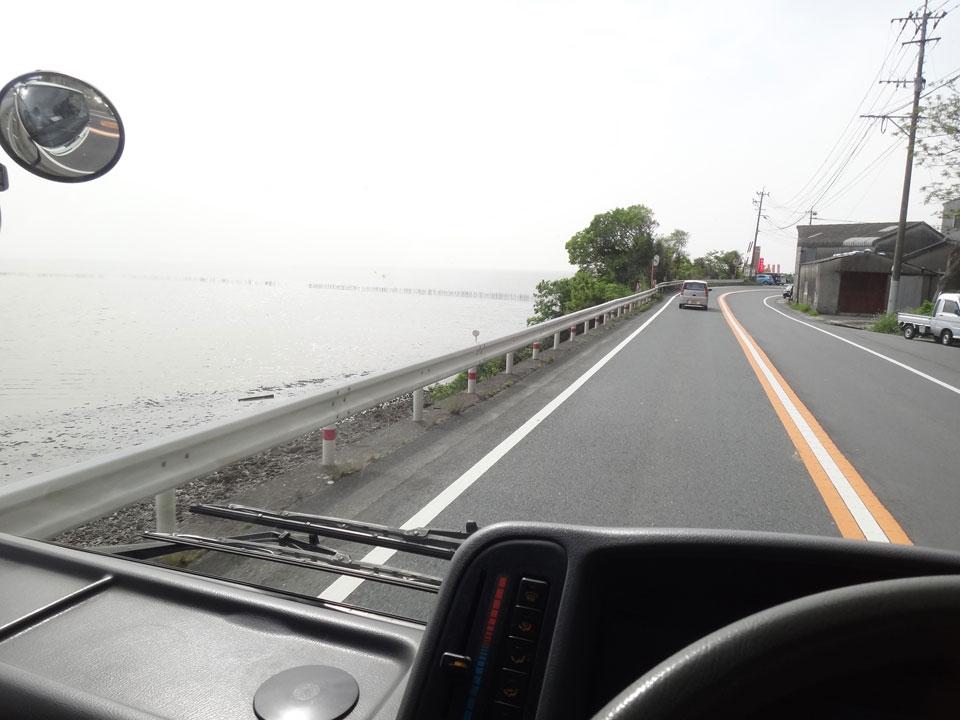 株式会社日食 国道501号線 熊本県熊本市西区河内町 有明海 島原半島