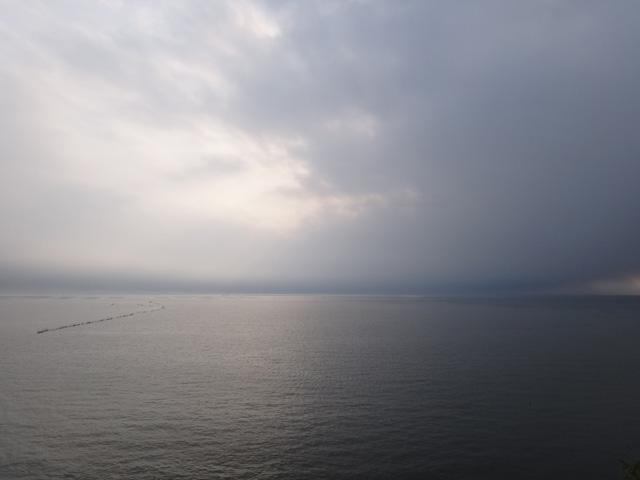 国道501号線 熊本県熊本市西区河内町  有明海