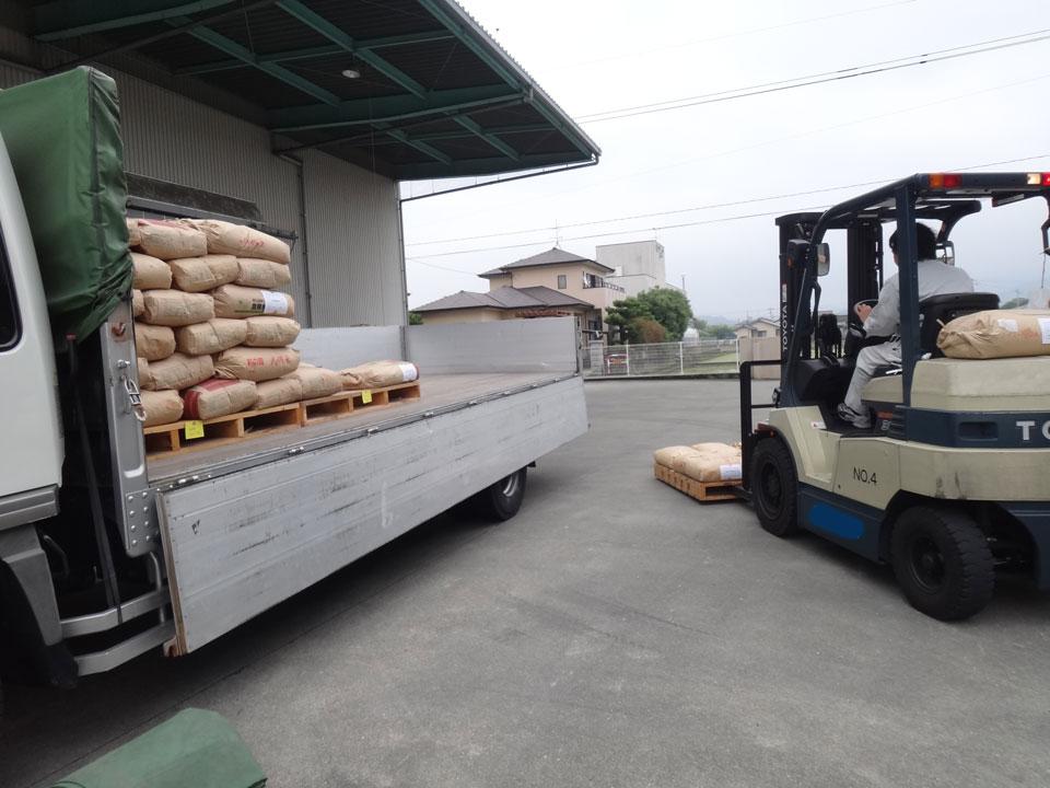 株式会社日食 熊本県八代市 砕米 納品