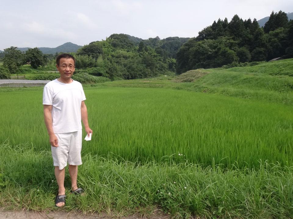 株式会社日食 島根県安来市広瀬町東比田 コシヒカリ 須藤昌裕さん