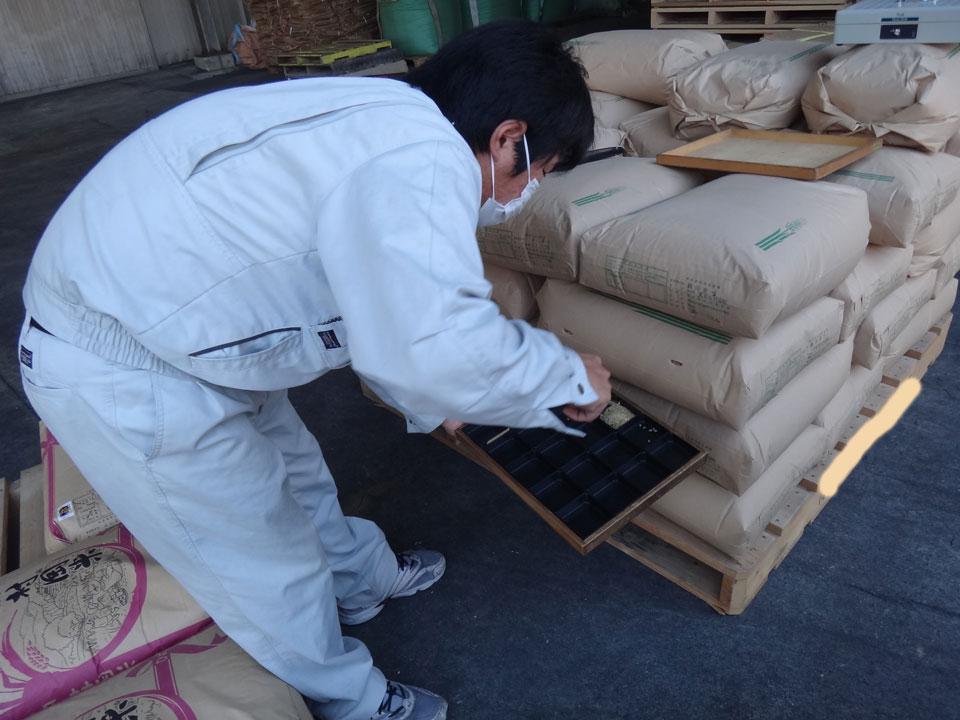 株式会社日食 米検査 熊本県八代市