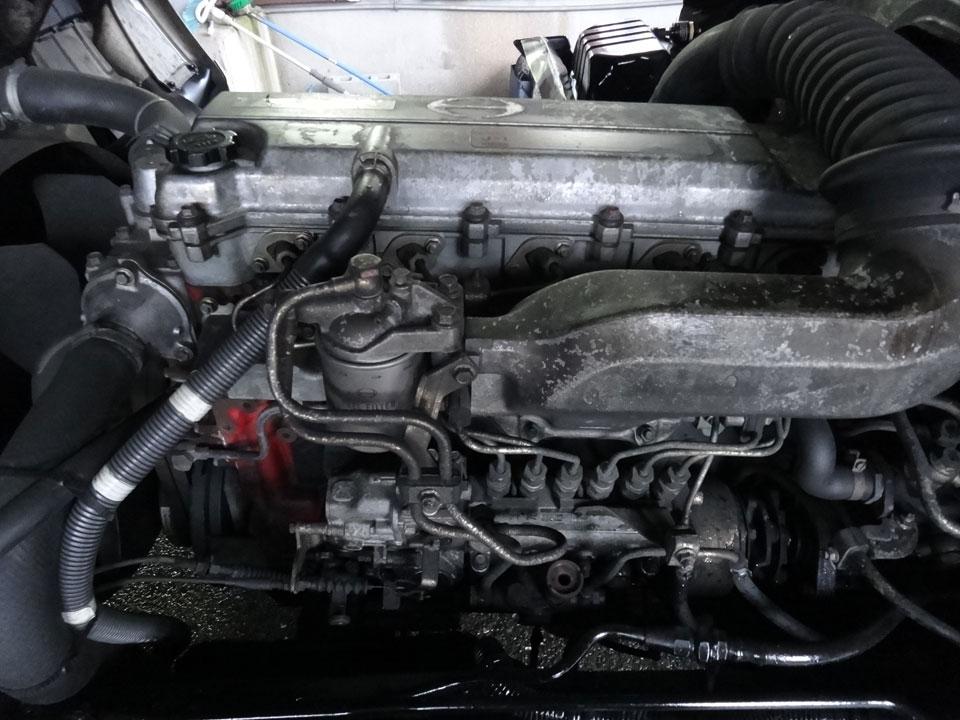株式会社日食 トラック 日野自動車 レンジャー J08C J-1型 エンジン