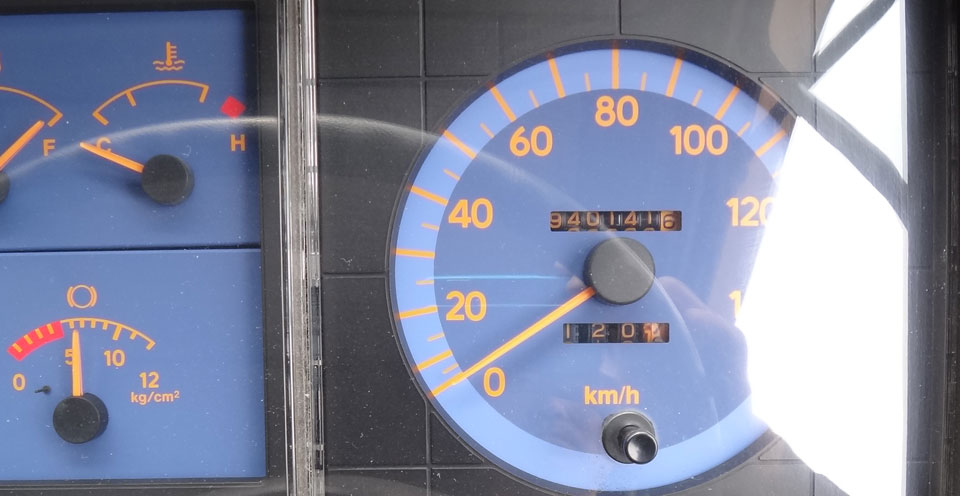 株式会社日食 日野自動車 レンジャー 走行距離 94万キロ