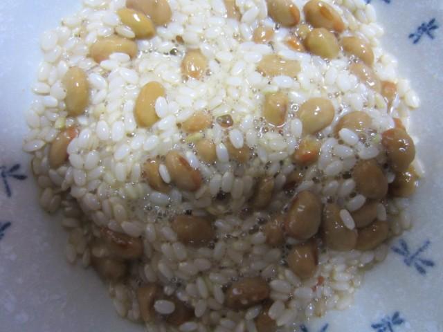 コメショウ 発芽生玄米 納豆