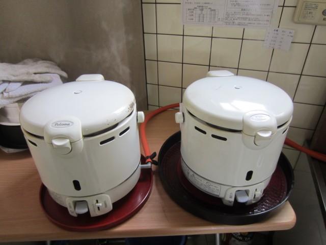 コメショウ 試験精米 食味値測定 ガス炊飯 試食 パロマガス炊飯器