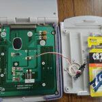 株式会社日食 電卓 電池交換