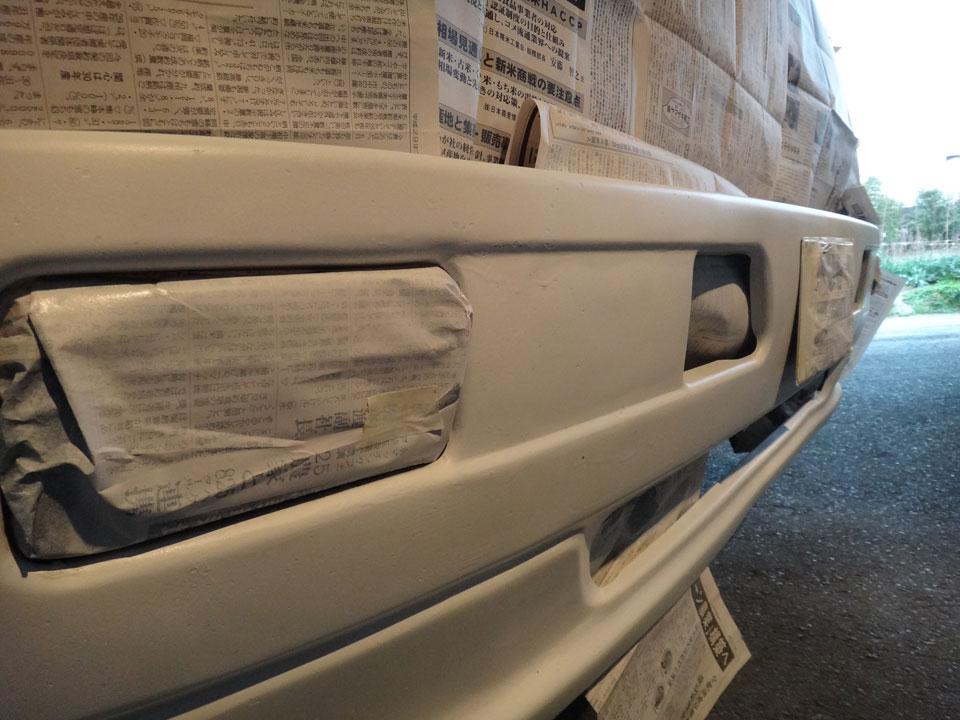 株式会社日食 トラック バンパー 錆止め 塗装 日野自動車 ライジングレンジャー