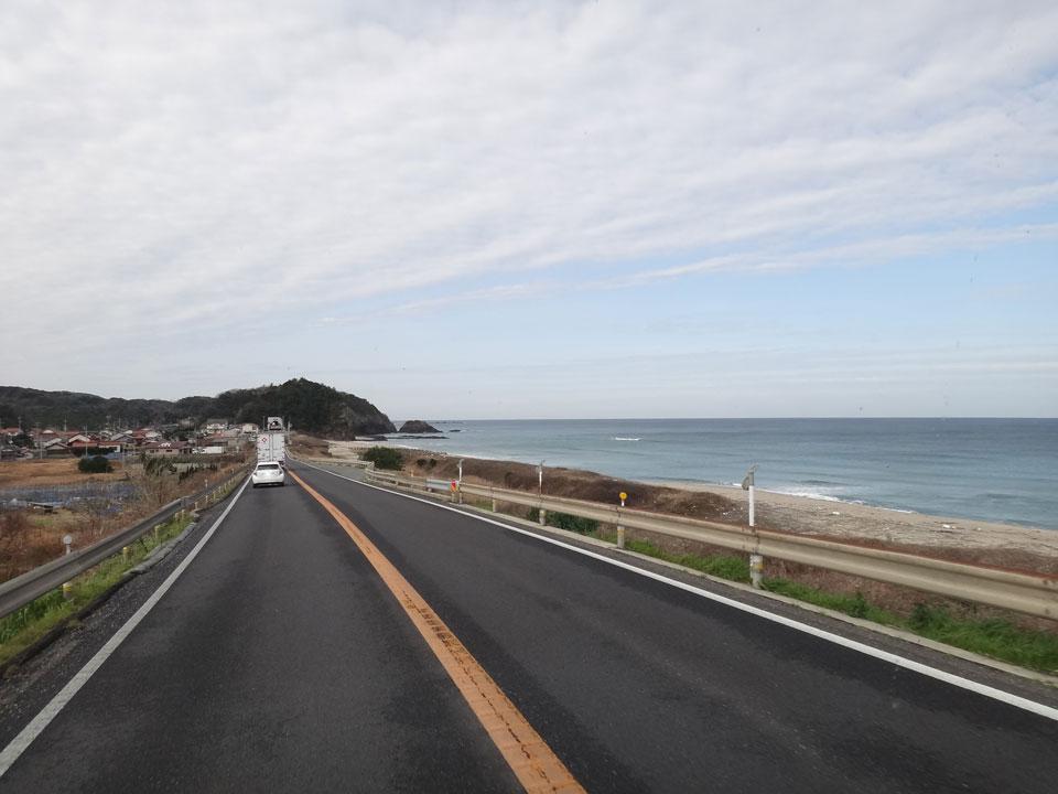 株式会社日食 国道9号線 島根県大田市五十猛 日本海