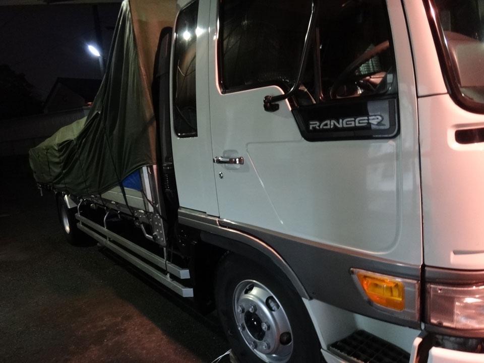 株式会社日食 トラック 洗車 雪 塩カリ 日野自動車 レンジャー