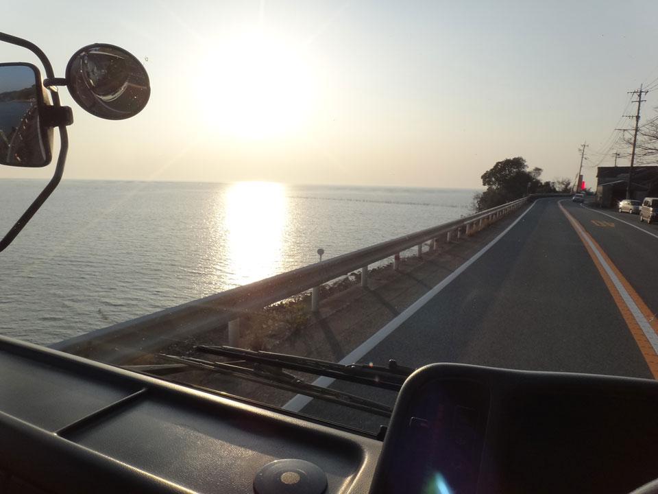 株式会社日食 国道501号線 熊本県熊本市西区松尾町 河内町 有明海