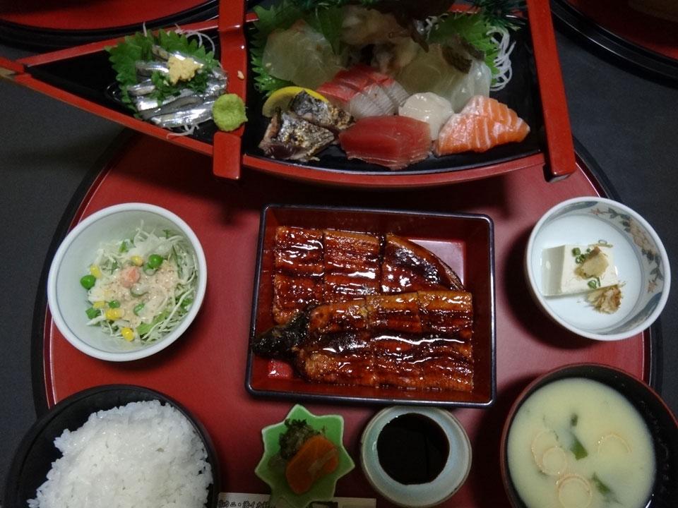 株式会社日食 お食事処 海鮮亭 熊本県八代市港町 刺身 鰻の蒲焼