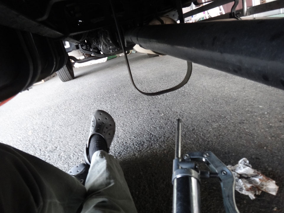 株式会社日食 日野自動車 レンジャー トラック 走行距離106万キロ グリス給脂 ライジングレンジャー
