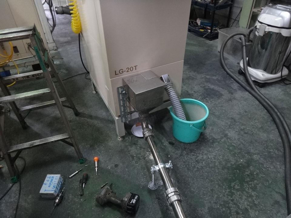 株式会社日食 安西製作所 LEDオプティサポーターⅡ LG-20T 色彩・異物選別機
