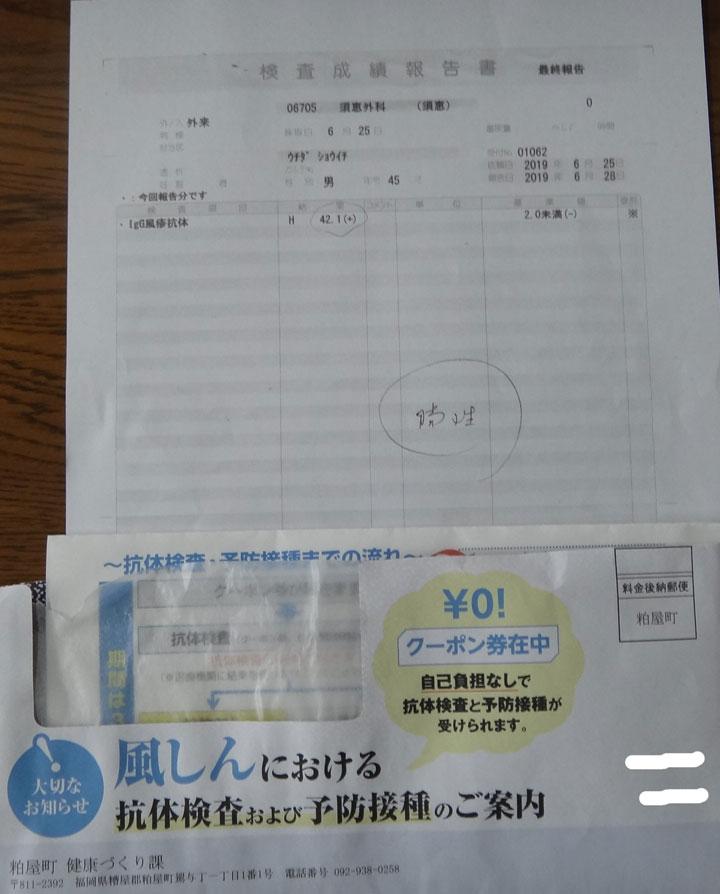 株式会社日食 風疹の抗体検査