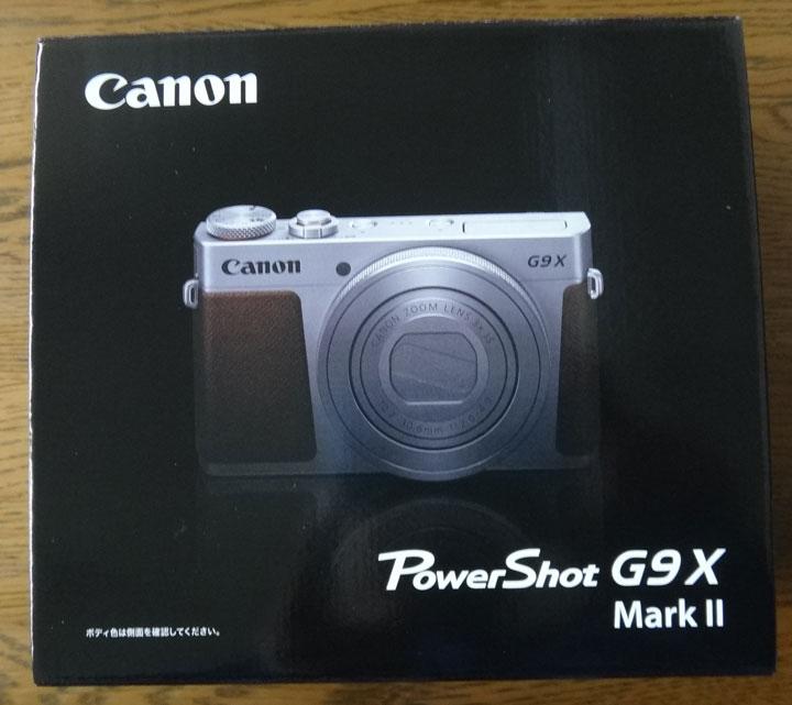 株式会社日食 キャノン PowerShot G9X MarkⅡ