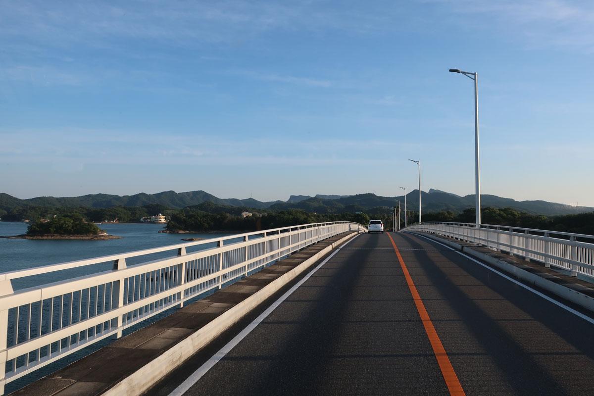 株式会社日食 天草五橋 3号橋(中の橋) 全長:361m 国道266号線 天草パールライン