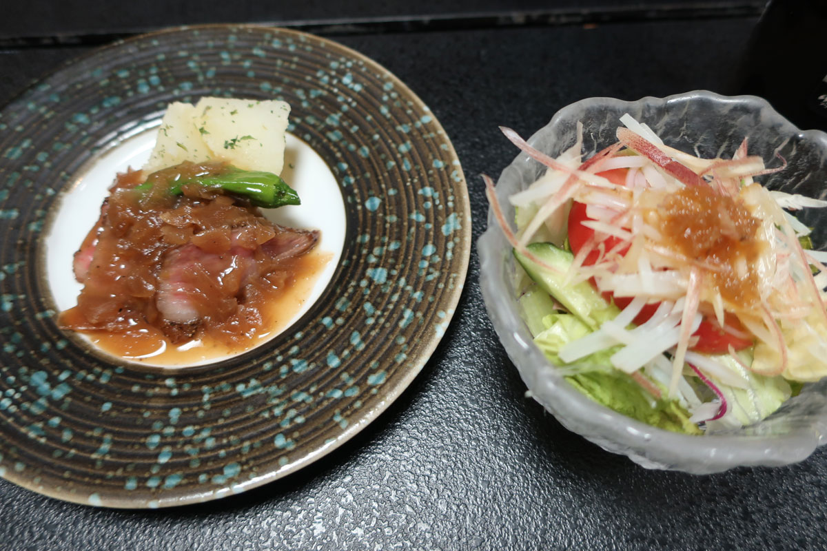 株式会社日食 富山県小矢部市 宮島温泉 滝乃荘 料理