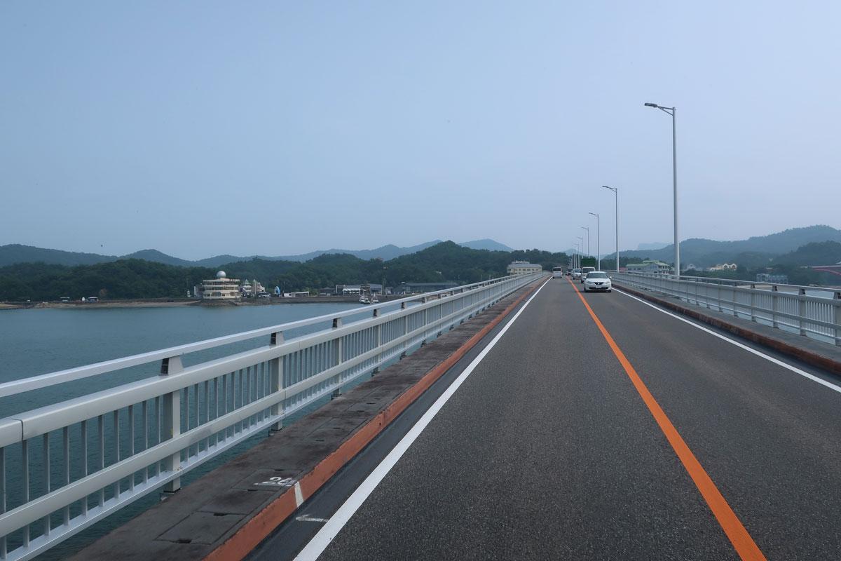 株式会社日食 天草五橋 4号橋(前島橋) 全長:520m  国道266号線 天草パールライン