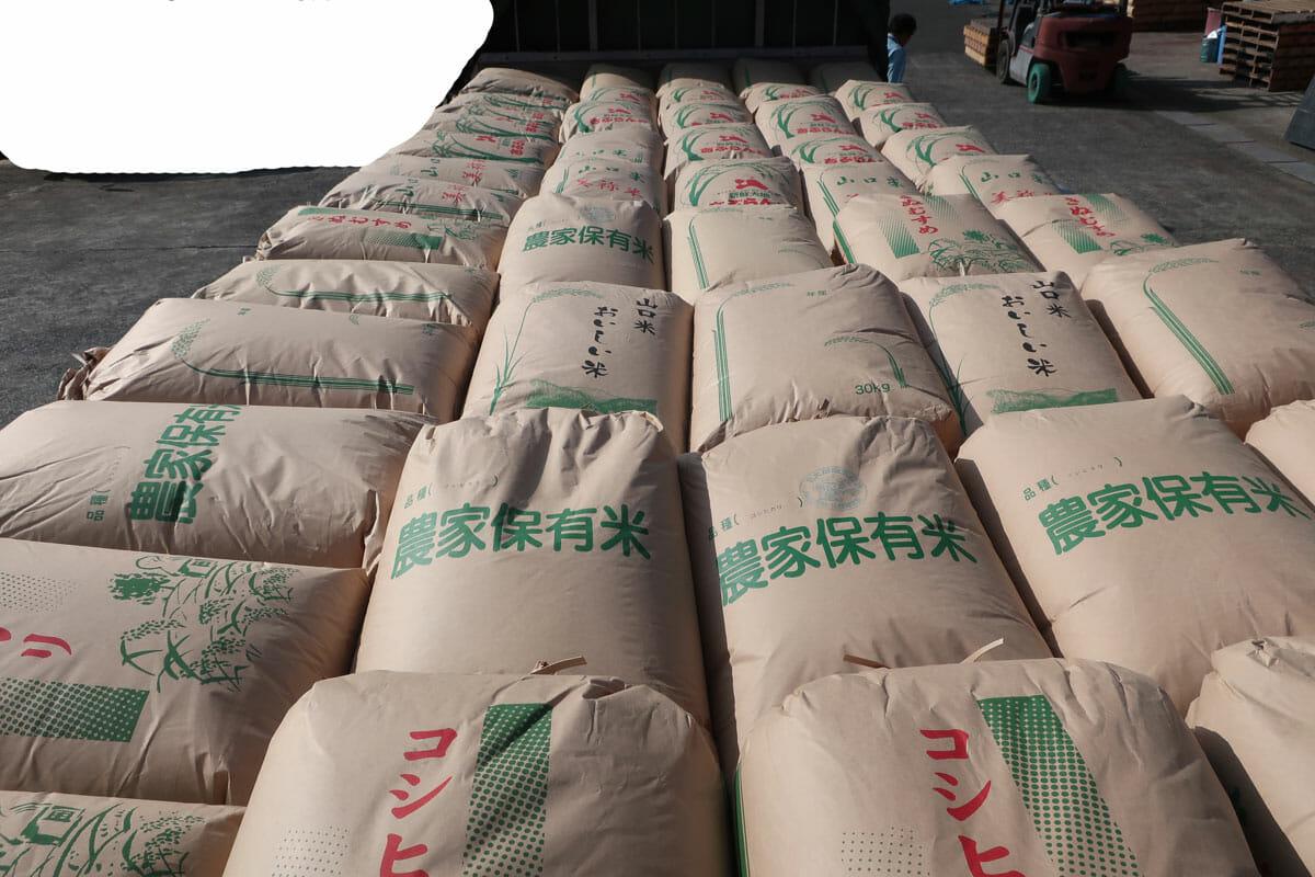 株式会社日食 山口県美祢市 積み込み 山口のお米 令和2年産 新米 コシヒカリ ひとめぼれ きぬむすめ ぴかまる