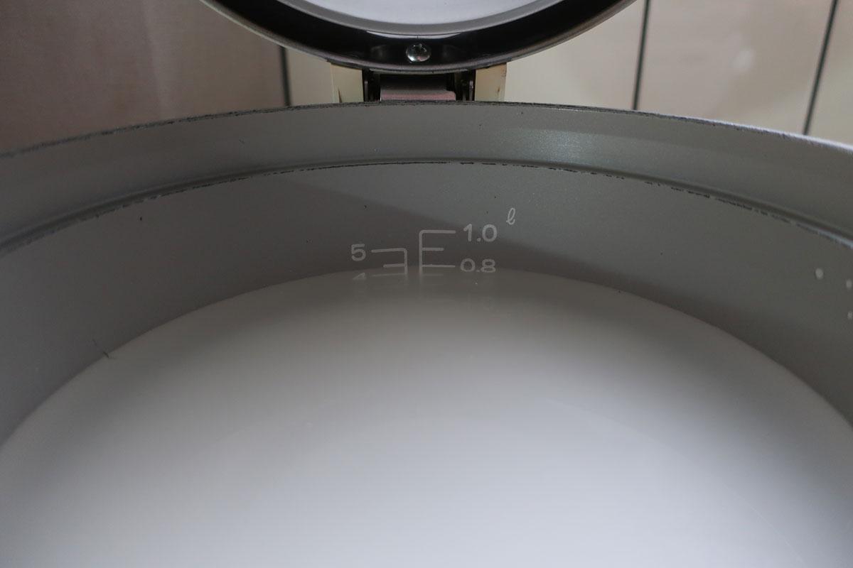 株式会社日食 パロマ ガス炊飯器 5.5合炊き PR-100DF 炊飯目盛 水加減