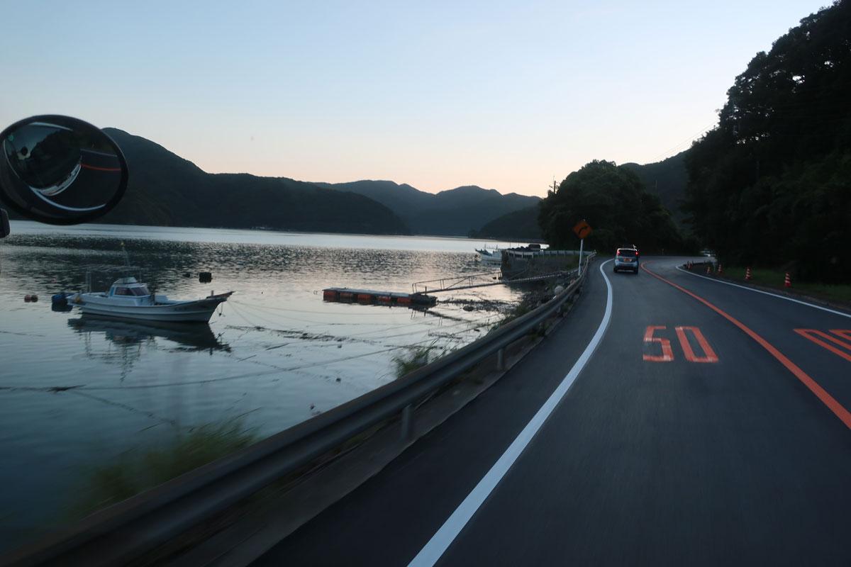 株式会社日食 国道389号線 サンセットライン 熊本県天草市河浦町 羊角湾
