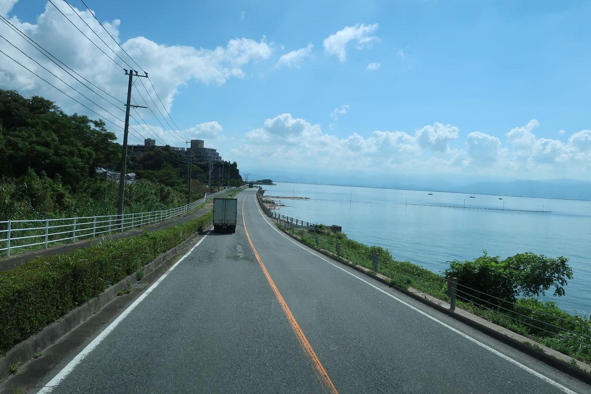 株式会社日食 国道266号線 熊本県宇城市三角町 八代海