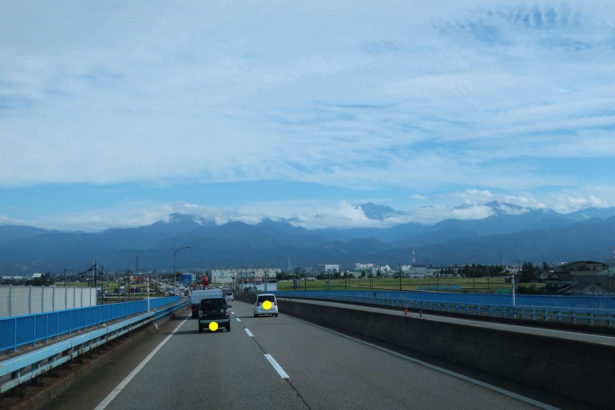 株式会社日食 国道8号線 富山県富山市 立山連峰 北アルプス
